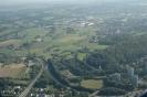 Luftaufnahme der Wohntürme vor Soers von Nordwesten